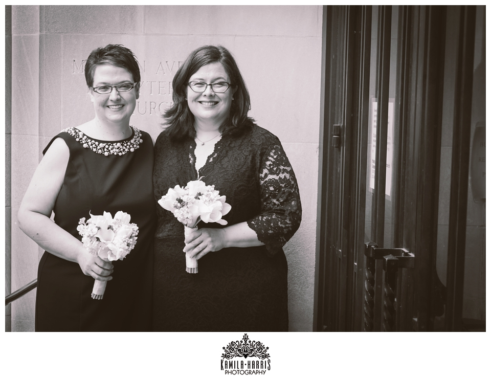 LGBT Wedding, Same Sex Wedding, NYC Wedding, Wedding Photography, Two brides, Madison Presbyterian, Fall Wedding, Small Wedding, Intimate Wedding, Unique Wedding