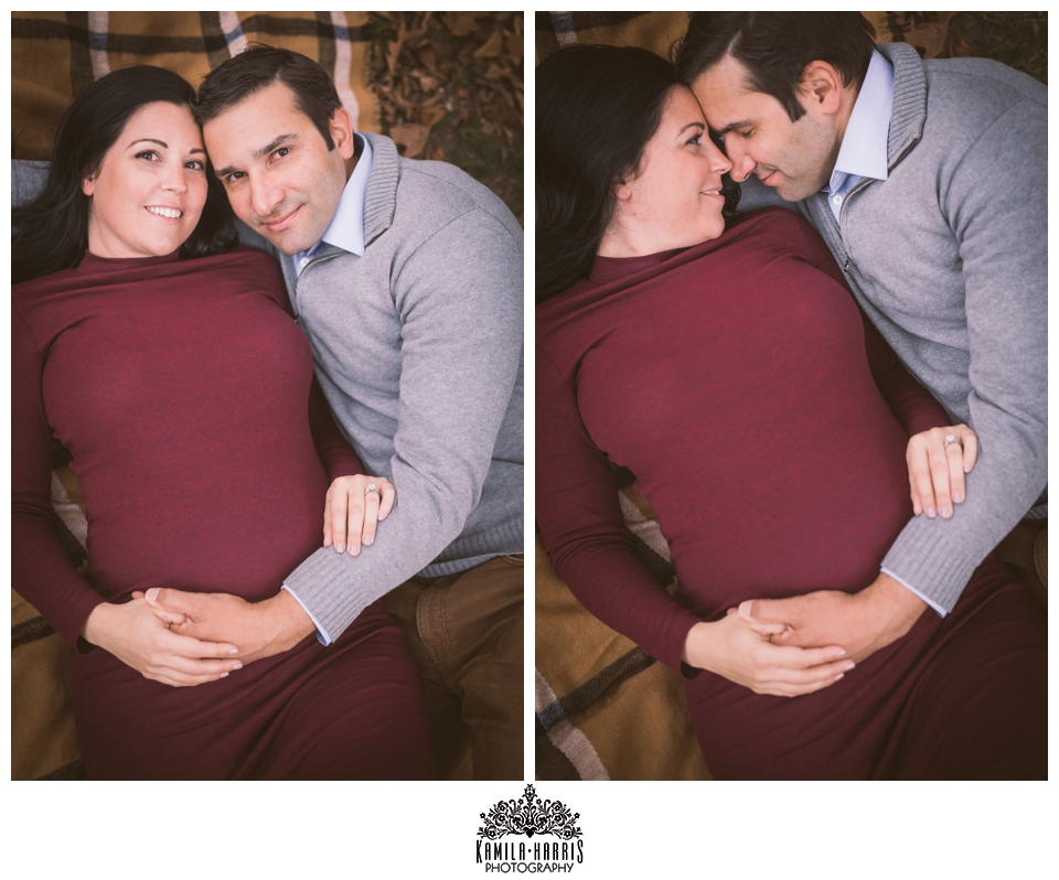 Autumn Central Park NYC Mahnattan Maternity Session
