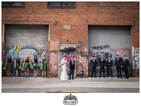 Greenpoint Loft, Greenpoint Loft Wedding, Brooklyn, Brooklyn Wedding, Dinosaurs, Jurrasic, Quirky, Awesome, Unique, Breautiful, Graffitti, Creative