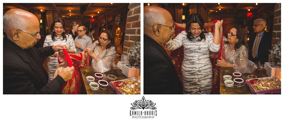 Punjabi wedding traidition, Chura, kaliras, welcome party, Refinery Rooftop, Empire State Building, Rooftop, Punjabi, Family gathering, event photographer, kamila harris photography