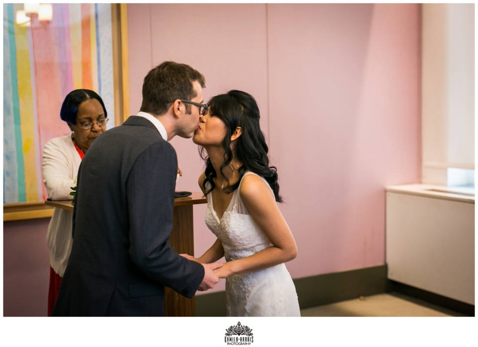 City Hall Wedding; NY; NYC; NYC Photographer; NYC elopement; NY Elopement; Elope In NYC; Kamila Harris Photography; NYC City Hall Wedding; Marriage Bureau Wedding