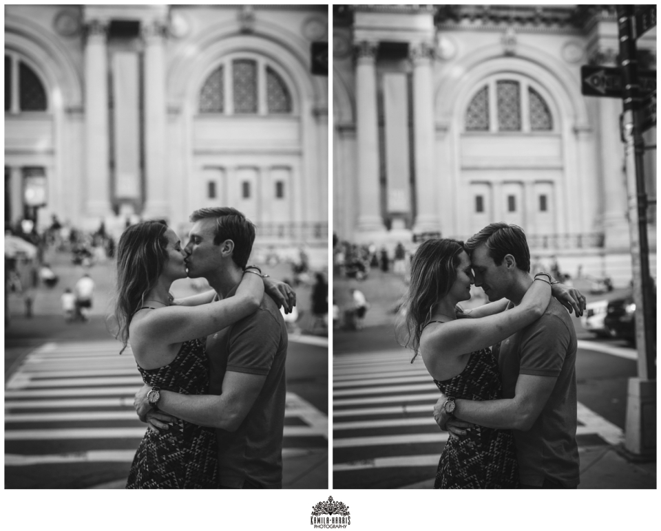NY Engagement Session Photographer, Engagement Photos at the Metropolitan Museum