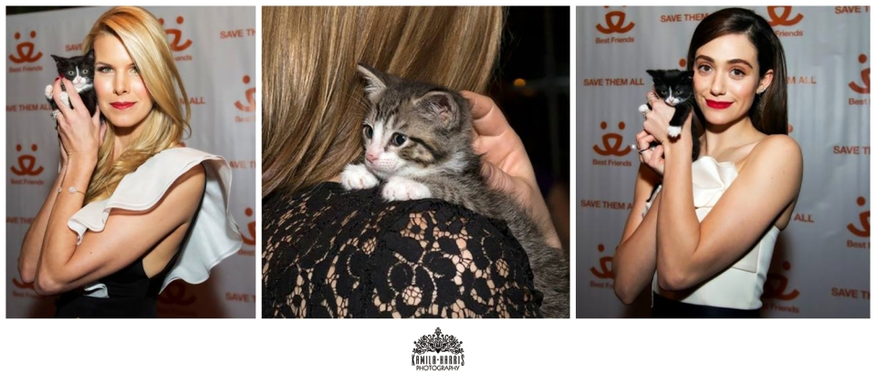 NYC Event Photographer, Best Friends Animal Society, Beth Stern, Emmy Rossum