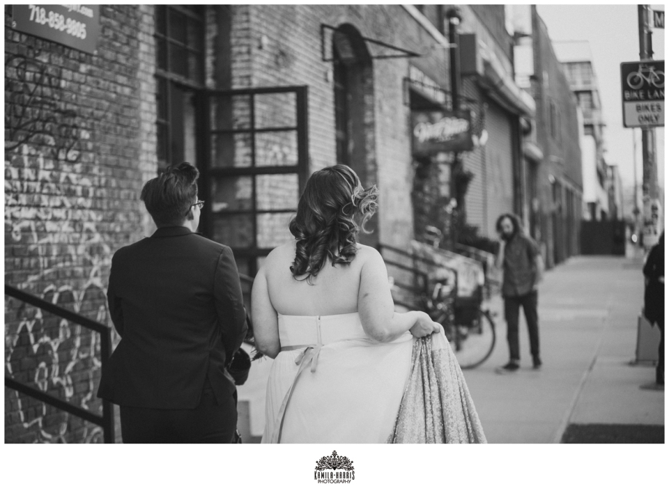 Brooklyn Wedding; Greenpoint Wedding; Greenpoint Loft Wedding; Same Sex Wedding; NYC Wedding; Greenpoint Loft