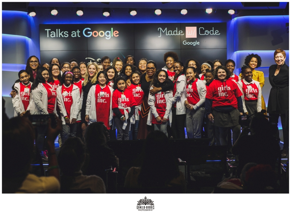 Oprah; Ava DuVernay; Storm Reid; Reese Witherspoon; Gugu Mbatha-Raw; A Wrinkle in Time; Google; Made with Code; Girls Who Code; Google Event; Photographer; Event Photographer; Corporate Photographer; NYC Corporate Event Photography