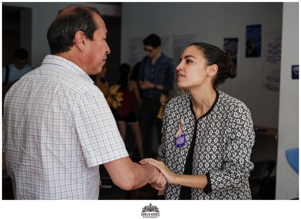 Alexandria Ocasio-Cortez; Campaign Photography; Event Photographer; Queens; New York; District 14; Democratic Socialist