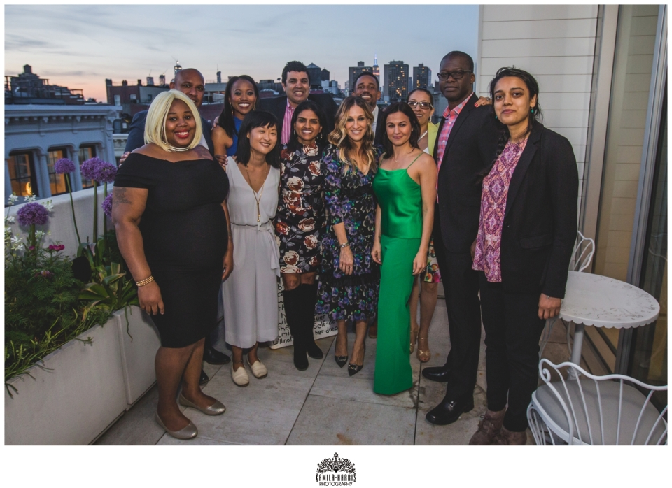 Fundraiser, One Fair Wage, Sarah Jessica Parker, Erika Alexander, Hill Harper, NYC Event Photographer, Corporate Photographer, NYC Event Photographer